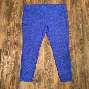 NWOT Athleta Quest Chaturanga Tight Blue 2x